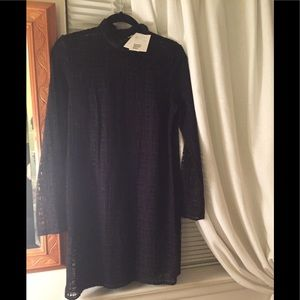 NWT & Other Stories Black netted dress